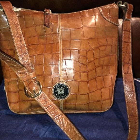 Dooney & Bourke Handbags - Crocodile style Dooney